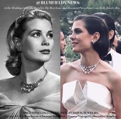 a8625797b80df @BLUMFIELDS , The Story Behind Charlotte Casiraghi'S Royal Wedding Necklace.