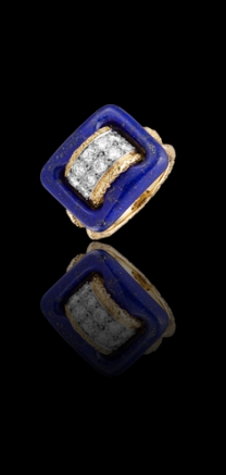 VAN CLEEF & ARPELS RING Arabe