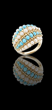 Van Cleef & Arpels  1960s Ring Arabe